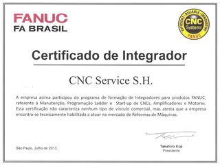 Certificado de Integrador FANUC